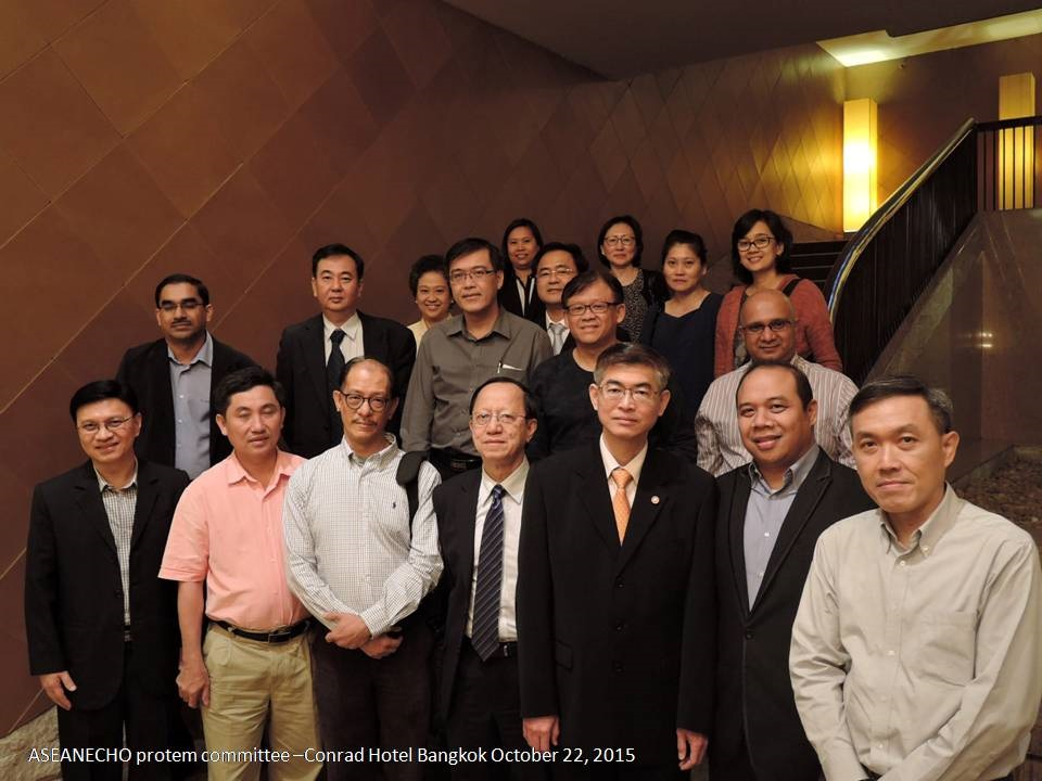 ISE Delegations at The 1st Annual Meeting Echo ASE ASEAN 2015