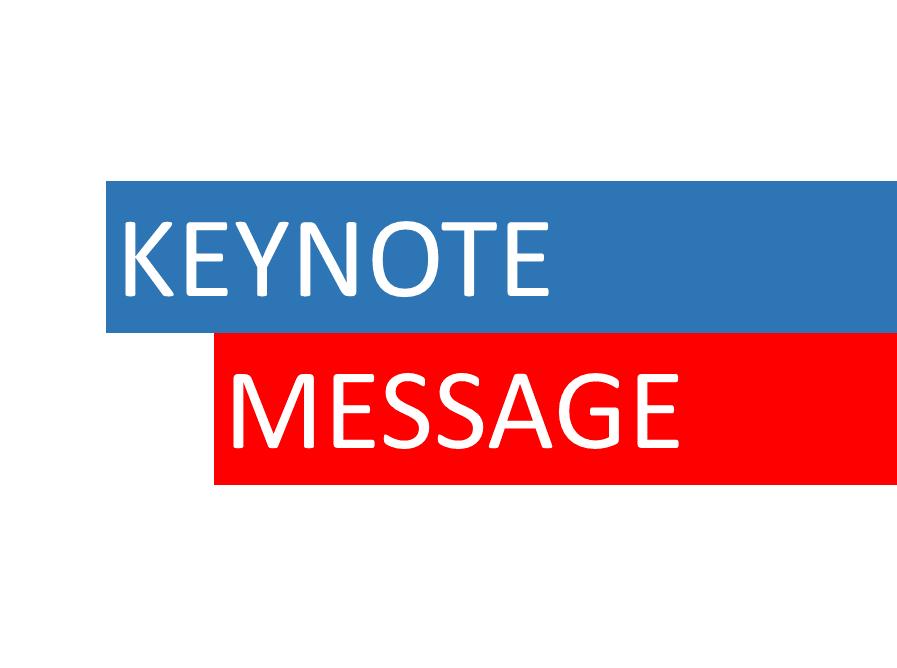 Keynote Message
