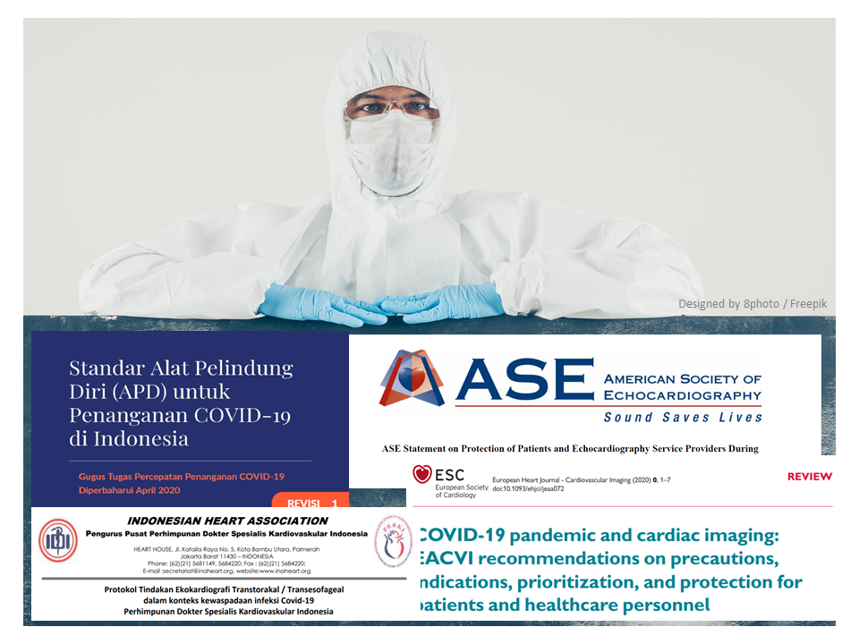 Protection of Echocardiography Personnel And Equipment in COVID-19 Pandemic: Recommendation from Various Echo Organization